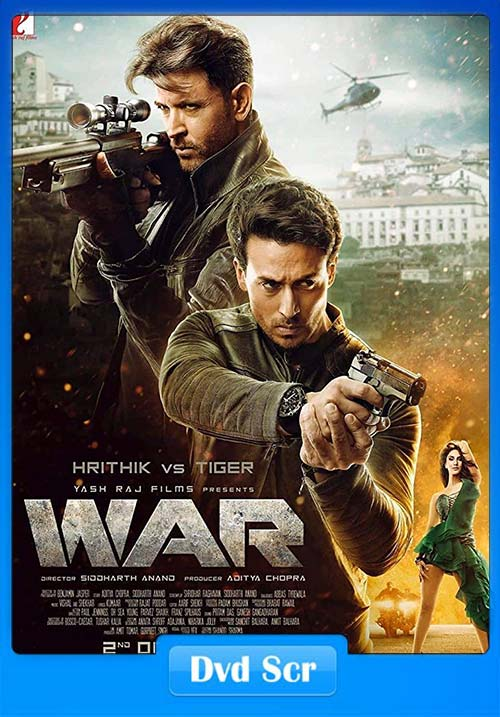 War 2019 720p Hindi DVDScr x264 | 480p 300MB | 100MB HEVC