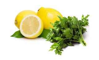 como bajar de peso con limon y perejil