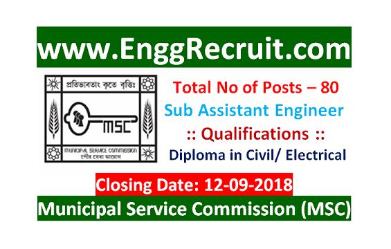 Municipal Service Commission (MSC)