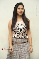 Actress Vanditha Stills in Short Dress at Kesava Movie Success Meet .COM 0110.JPG