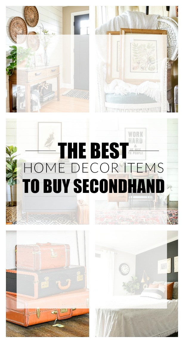 The Best Home Decor Items To Buy Secondhand Little House Of Four