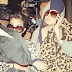 Khloe and Kourtney Kardashian wrapped up in their blankets, they face the paparazzi!