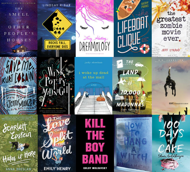 2016 YA Book Titles That Intrigue Me