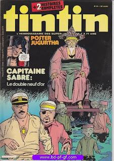 Tintin-numéro 25, année 38, 1983, Jugurtha