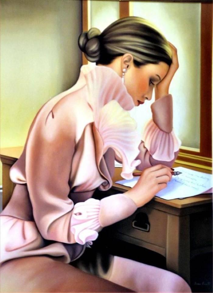 Итальянский художник. Sandra Vandelli
