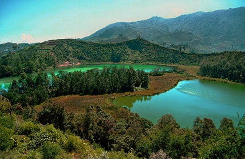 Tourism Of Indonesia Nature Mount Dieng Wonosobo Central Java