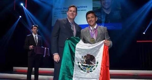Joven mexicano gano medalla de oro en Canadá por fertilizante a base de orina, pero  no es tan famoso, porque sus hermanos mexicanos casi no lo comparten