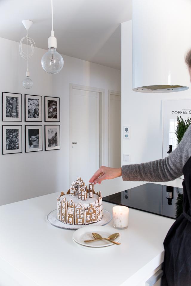 leivonta, Villa H, resepti, porkkana kinuski kakku, joulukakku, christmas cake