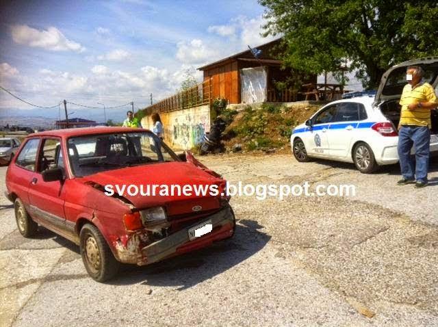 ΚΑΣΤΟΡΙΑ: Τροχαίο ατύχημα στο ΤΕΙ με δύο τραυματίες (Φώτο)