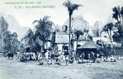 villaggio eritreo, esposizone 1906