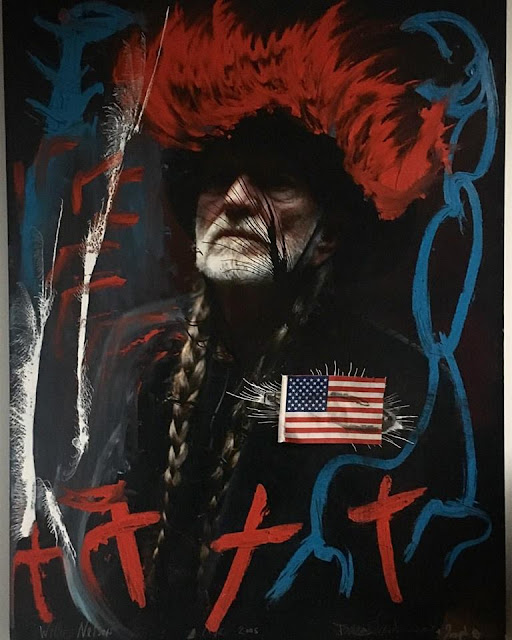 Willie Nelson by Clinch & Arthur