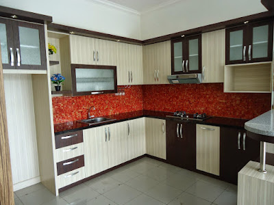 Desain Interior Kitchen Set Modern