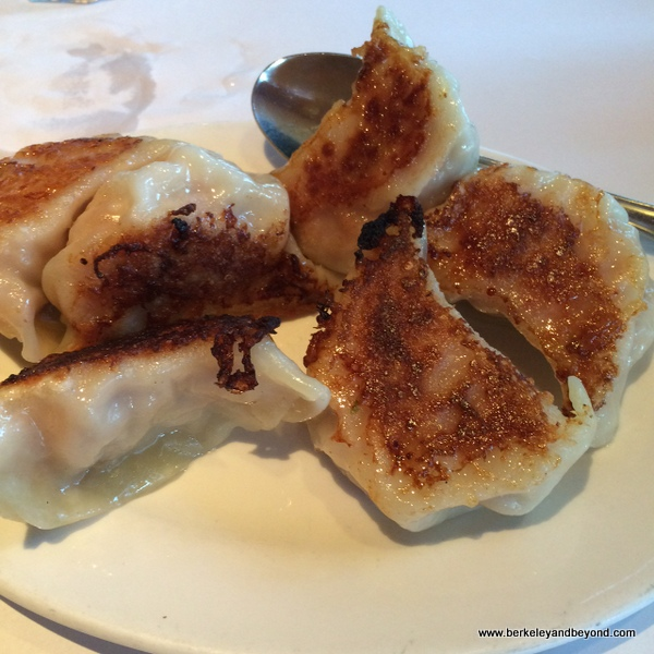 pot stickers at Yet Wah in San Rafael, California