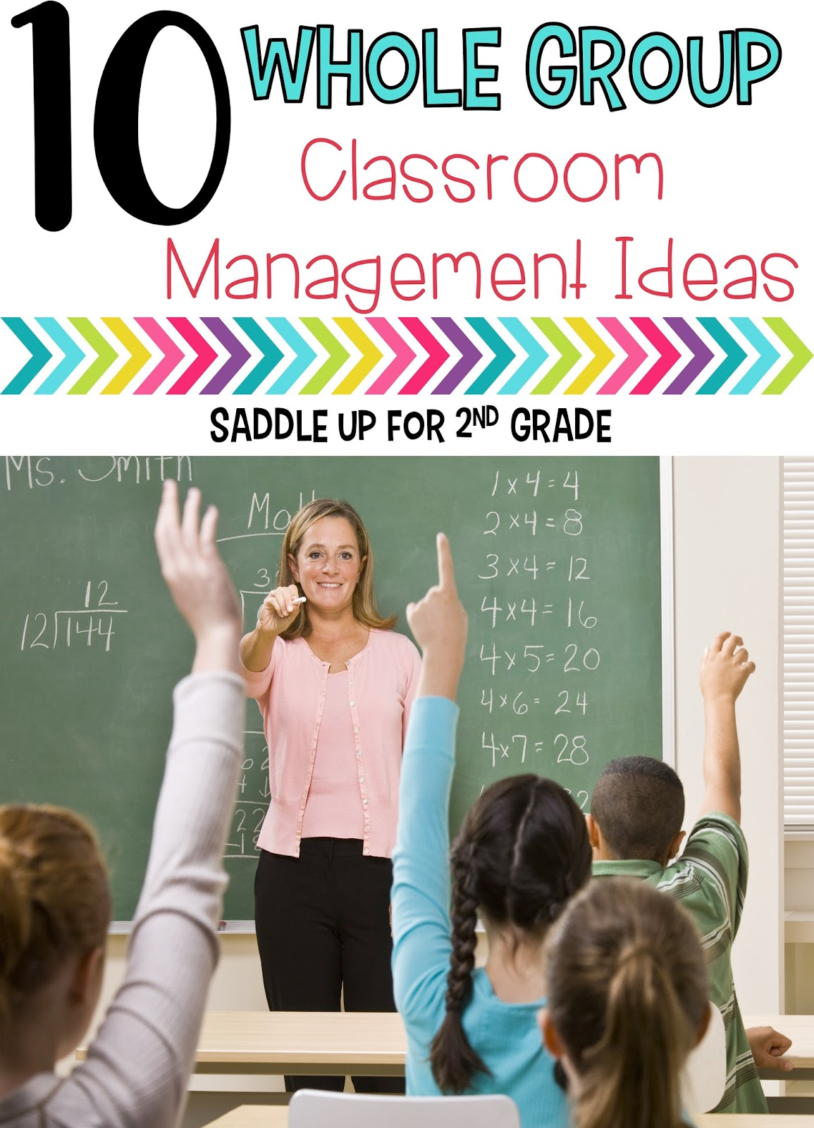 This blog post is full of classroom management ideas to help start back to school off right. These strategies are perfect for whole group instruction.