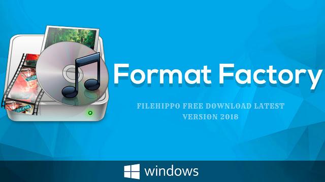 تحميل برنامج فورمات فاكتوري format factory محول الصوتيات والفيديو لتحويل الصيغ