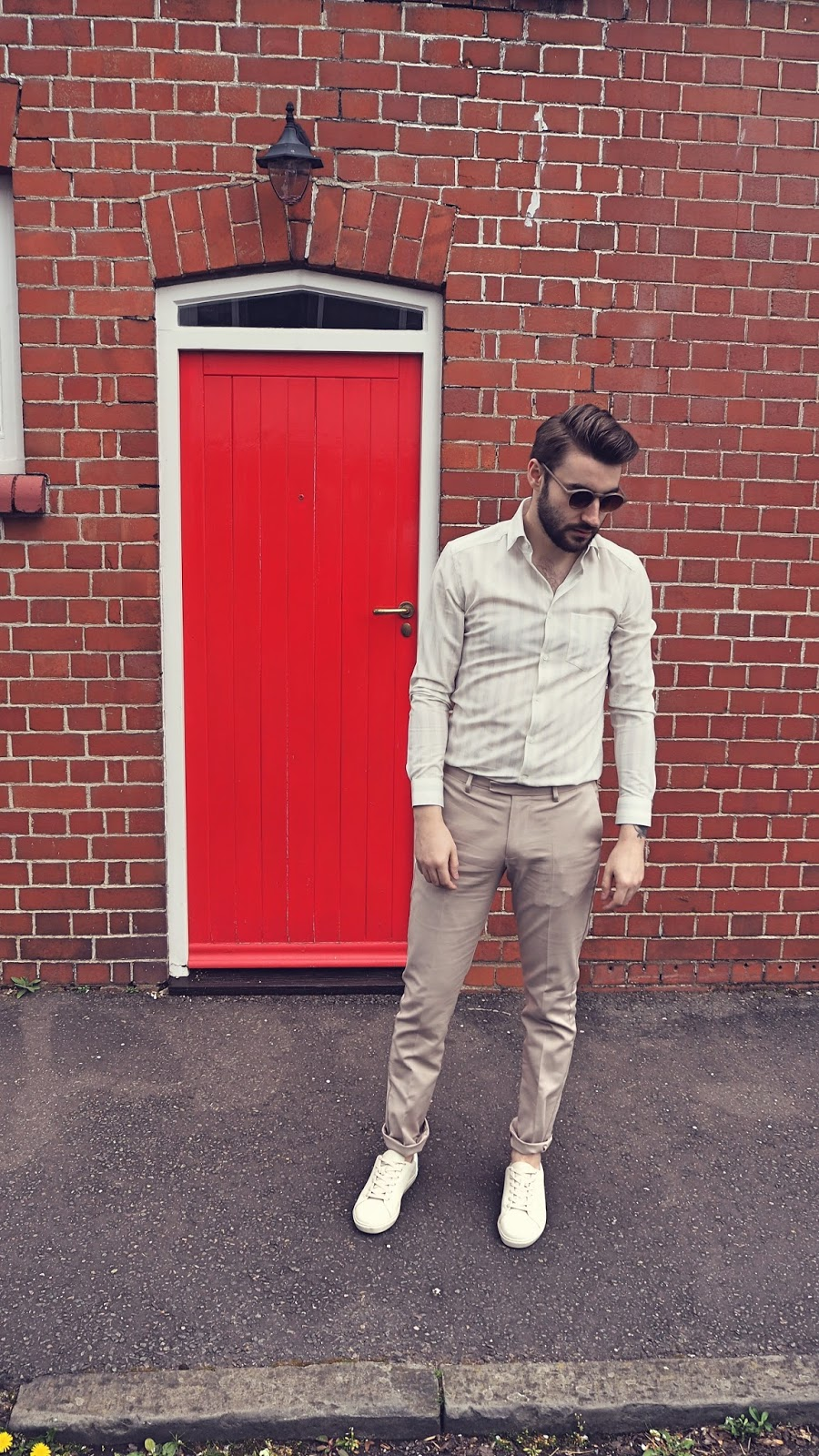 reiss outfit shirt trousers asos shoes blogger blog mens men style fashion bristol