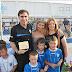 Οι Ποδοσφαιριστές Πλιάτσικας -Τζανακάκης στην γιορτή των Ακαδημιών (Αστεράκια) !!