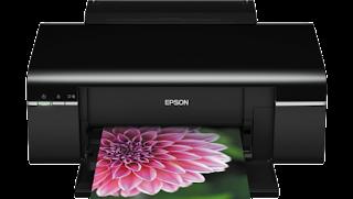 How to reset the printer Epson Stylus Photo T50