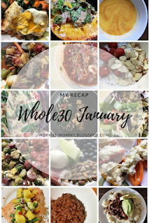 My Whole30 journey by blogger Whitney of Work it Mommy