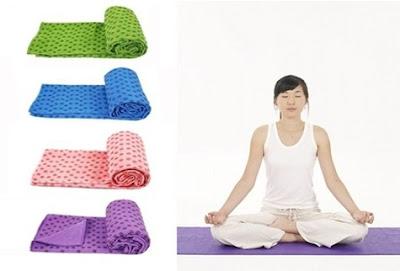 Khăn trải thảm tập yoga giá rẻ