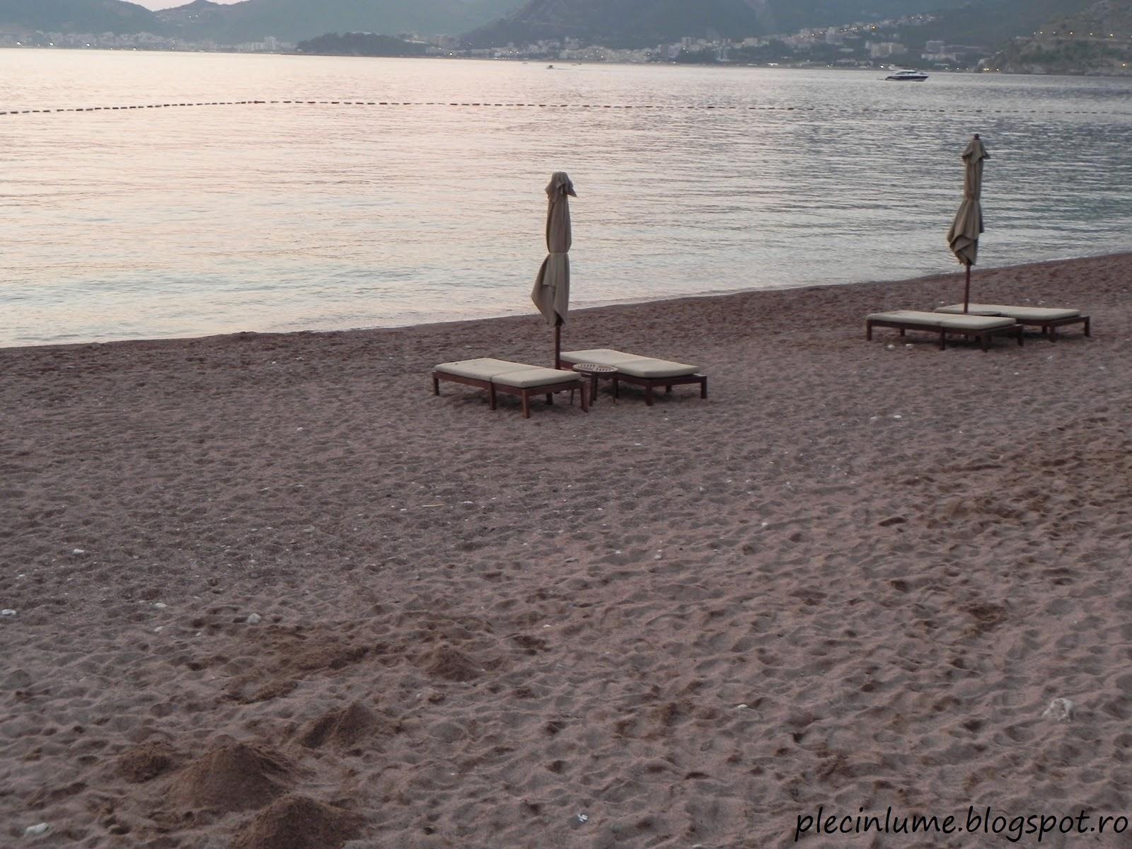 Plaja din Sveti Stefan