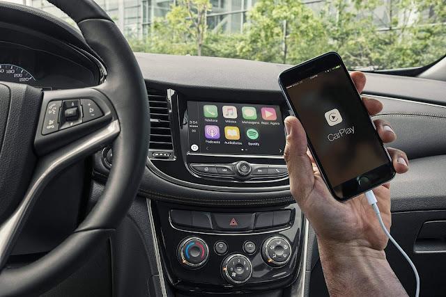 Novo Chevrolet Tracker 2017 - Multimídia MyLink2