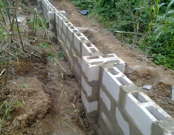 How to calculate blocks for fence