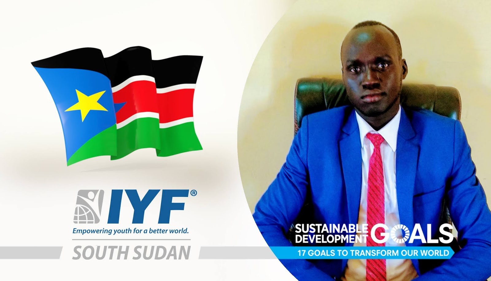 Lino Chuol, IYF Representative in South Sudan