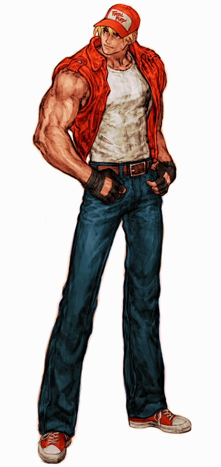 Rock Howard Terry Bogard : Rock ya tuvo una aparición en garou: