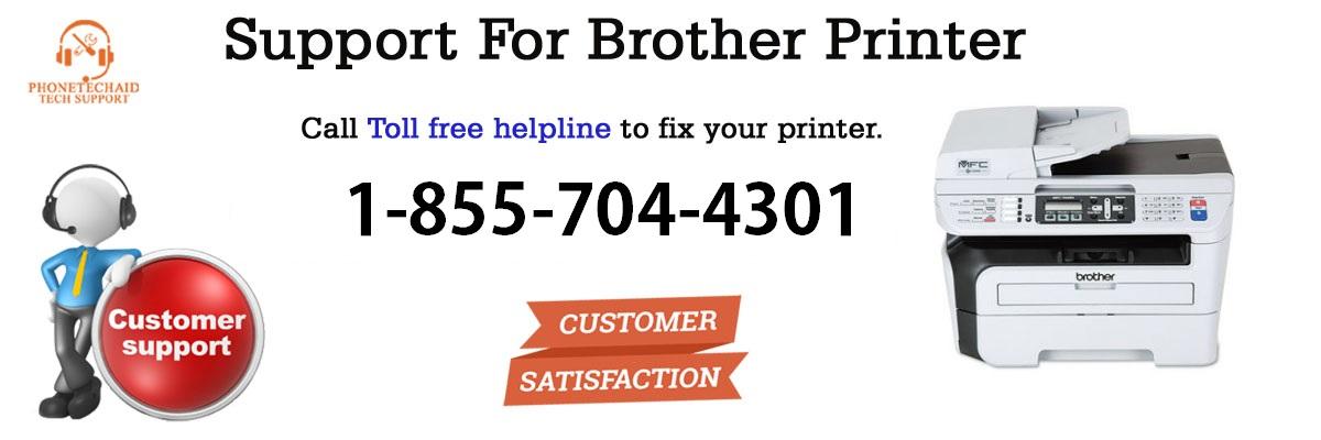 Dial 855-704-4301 Brother Printer repair | Brother Printer offline