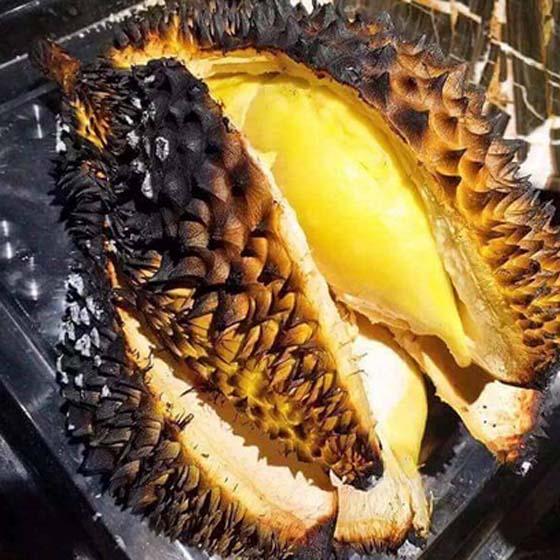 Keenakan Durian Bakar Buat Anda Terliur
