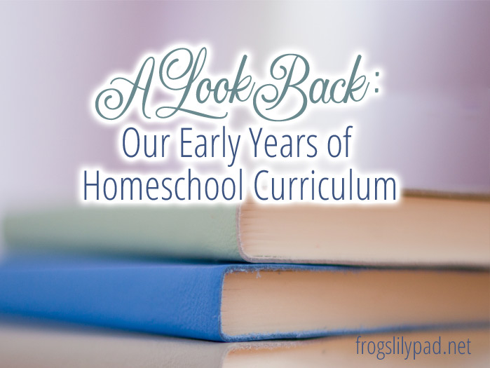 A look back to our early years of homeschool curriculum. We started with the big boxed kits, but over the years we slowly spread our wings to a whole new world created just for homeschoolers.
