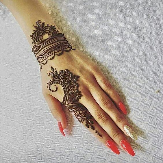 Mehndi For Only Fingers : Updated top mehndi designs for fingers wedding