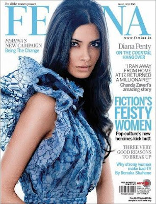 Diana Penty's hot Photo shoot on Femina India May issue