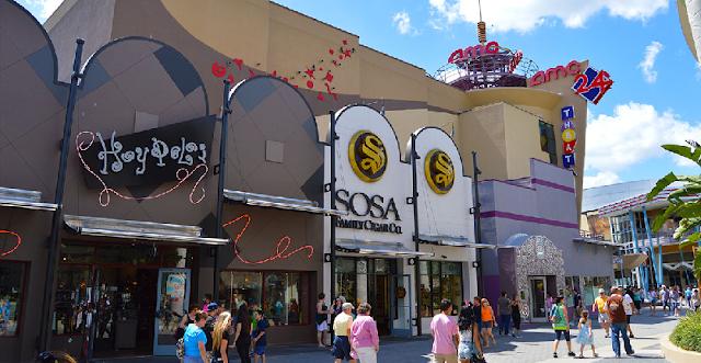 Disney Springs na Disney em Orlando