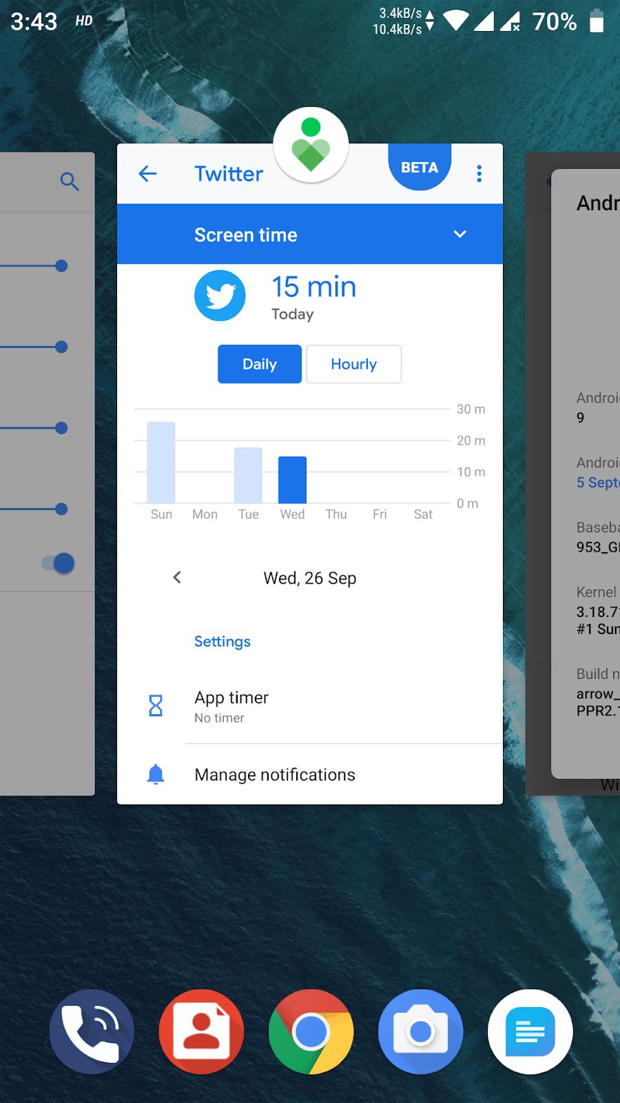 Android Pie 9.0 Moto G4 e G4 Plus