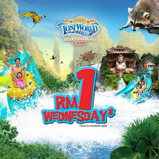 Lost World Of Tambun Entrance Ticket RM1 Wednesday Promo