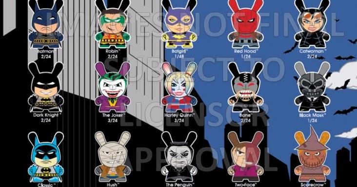 "Bat Man 1.5/"" Figure Brand New Blister Pack DC Universe Keychain Kidrobot"