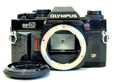 Olympus OM40, Front