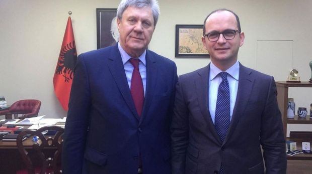 Filipov and Balashov, the Russian diplomats expelled from Albania