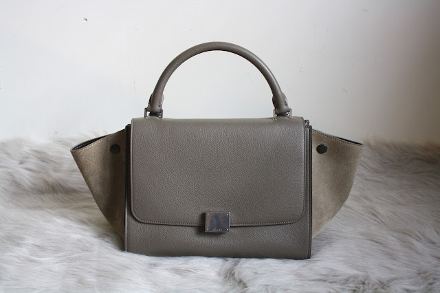 celine bag trapeze dune mini small size céline