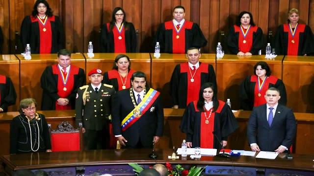 Estados Unidos sanciona a jueces del Tribunal Supremo de Justicia de Venezuela (Lista oficial)