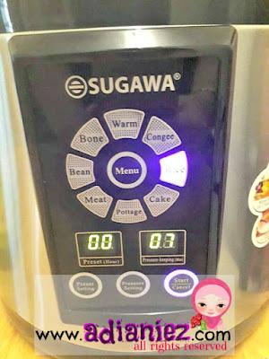Sugawa Multifunction Microcomputer Pressure Cooker
