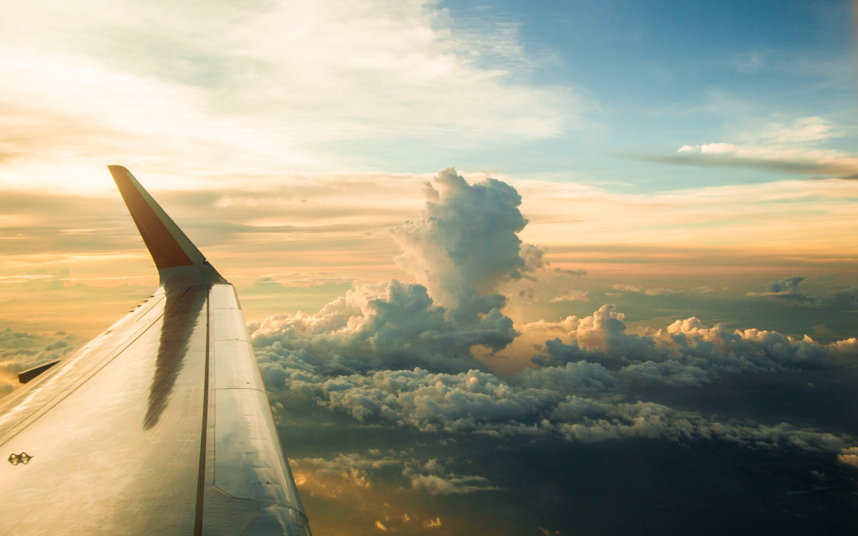 airplane window view wallpaper