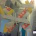 Papillons en masking tape