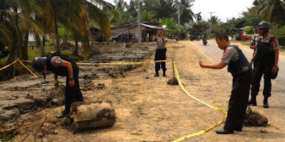 Warga Di Aceh Utara Menemukan Bahan Peledak Sejenis Granat Aktif - Sagoe Tunong