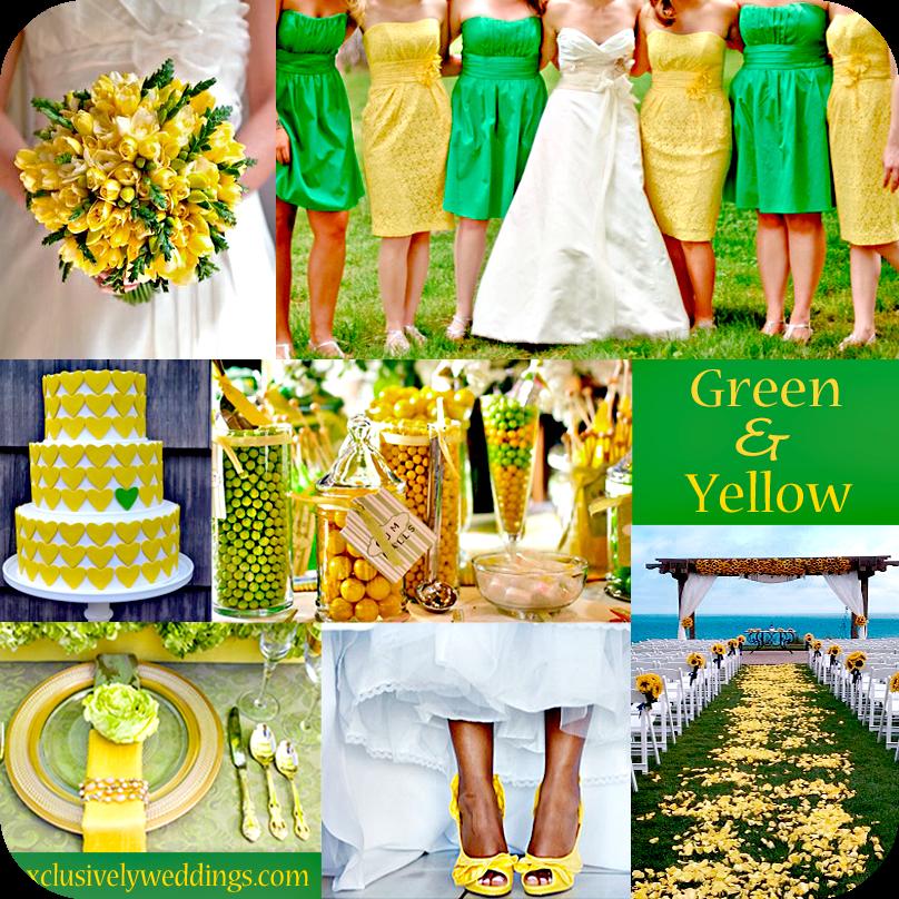 Wedding Theme White And Green: Event And Wedding: Colore Matrimonio