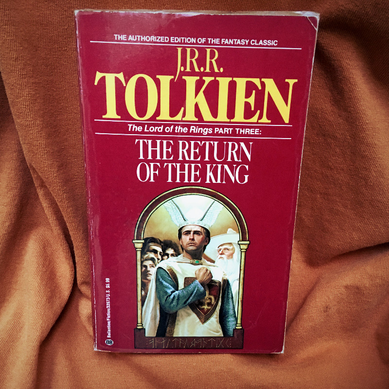 The Return of the King by J.R.R. Tolkien Paperback Book
