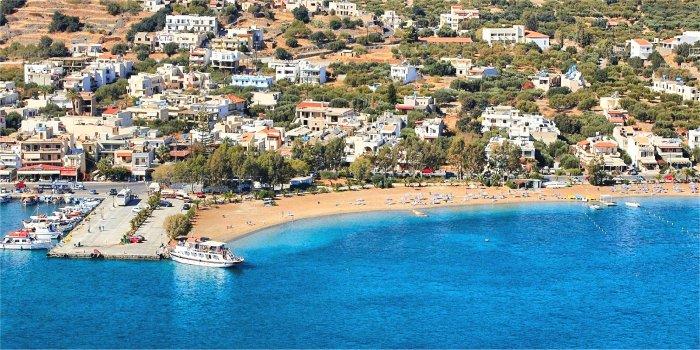 Tipologie di alloggi a Creta