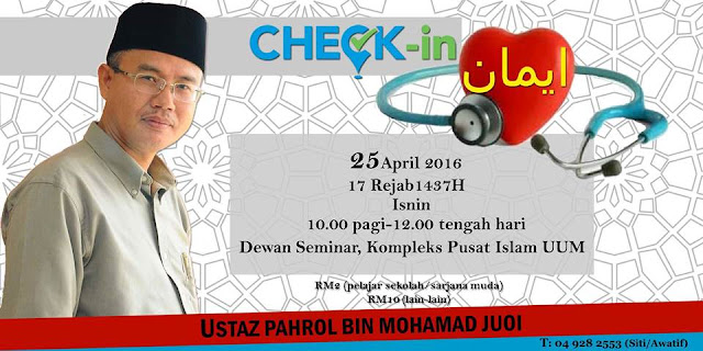 Israk Mikraj : Check in Iman